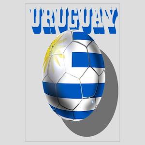 Uruguay Charruas futbol flag