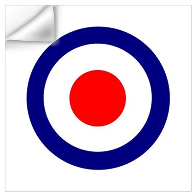 Mod Roundel Wall Decal