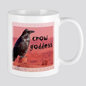Crow Goddess Mug