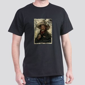 Vintage Cowboy Photo Dark T-Shirt