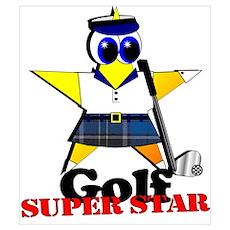 Golf Star Poster
