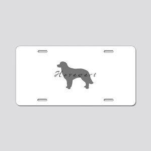Hovawart Aluminum License Plate