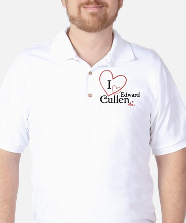 I love Edward Cullen Golf Shirt