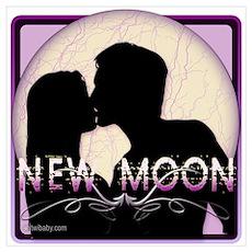 New Moon Midnight Kiss Poster