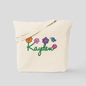Kayden Flowers Tote Bag