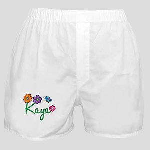 Kaya Flowers Boxer Shorts