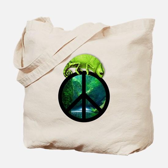 Cute Chameleon Tote Bag