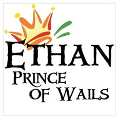 Ethan Prince of Wails Canvas Art