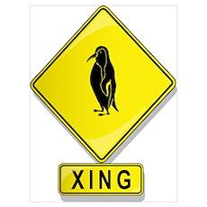 Penguin XING Poster