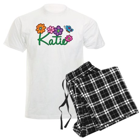 Katie Flowers Men's Light Pajamas