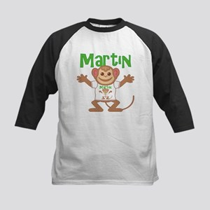 Little Monkey Martin Kids Baseball Jersey