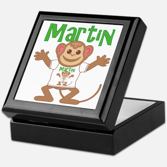 Little Monkey Martin Keepsake Box