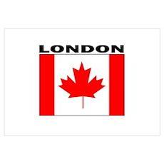 London, Ontario Poster