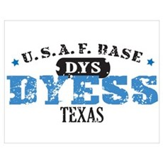 Dyess Air Force Base Poster