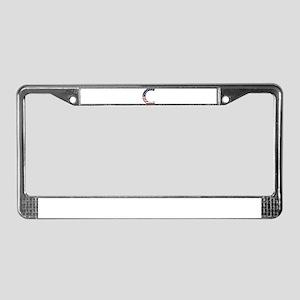 C Stars and Stripes License Plate Frame