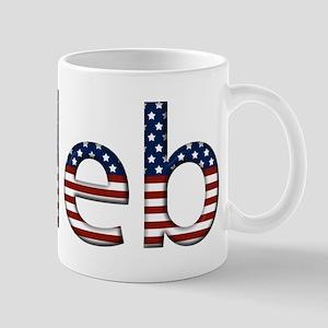 Caleb Stars and Stripes Mug