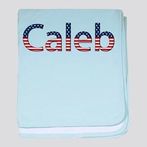 Caleb Stars and Stripes baby blanket