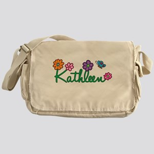 Kathleen Flowers Messenger Bag