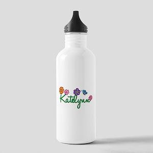 Katelynn Flowers Stainless Water Bottle 1.0L