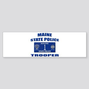 Maine State Police Sticker (Bumper)