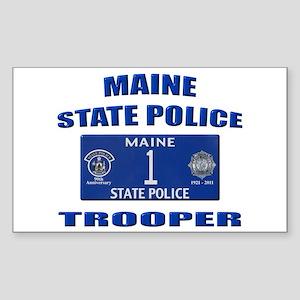 Maine State Police Sticker (Rectangle)
