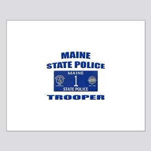 Maine State Police Small Poster