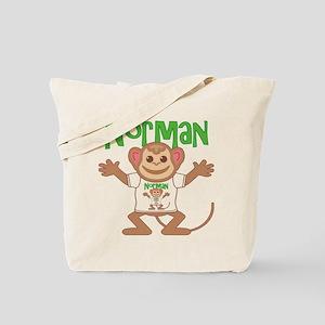 Little Monkey Norman Tote Bag