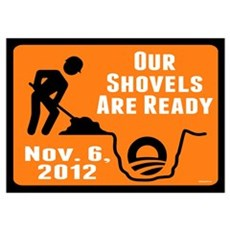 Shovels Ready! Poster