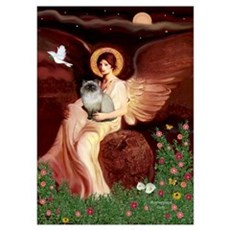 Seated Angel/ Poster
