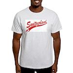 Swiss Swash Ash Grey T-Shirt