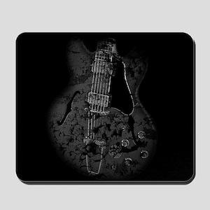 Destroyed Art - Hollowbody Guitar Mousepad