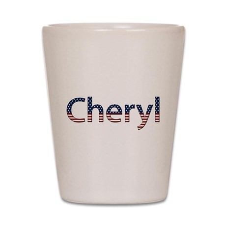 Cheryl Stars and Stripes Shot Glass