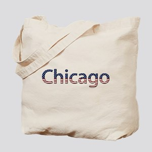 Chicago Stars and Stripes Tote Bag