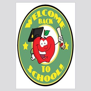 Welcome Back to School Apple