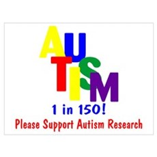 1 in 150 (Support Research) Poster