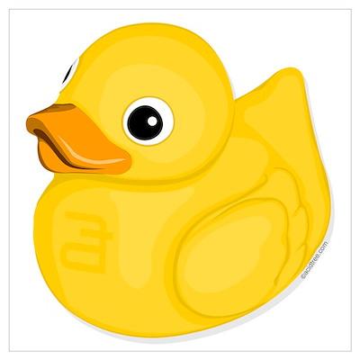 Rubber Ducky, Canvas Art