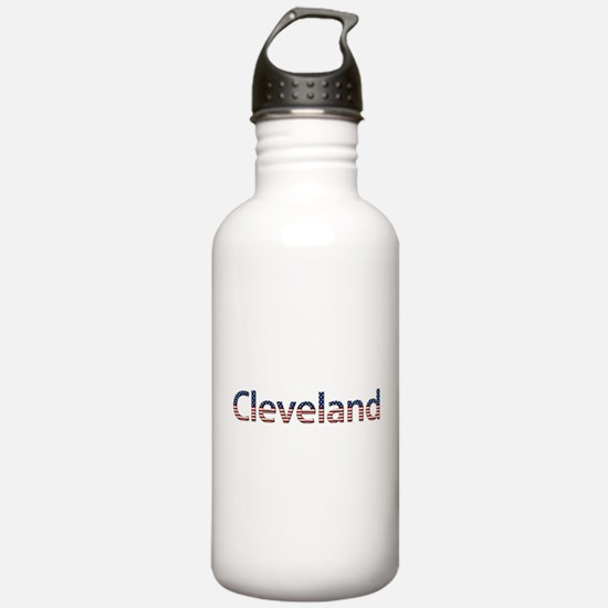 Cleveland Stars and Stripes Water Bottle