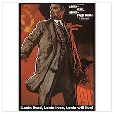 Lenin Lives! Poster