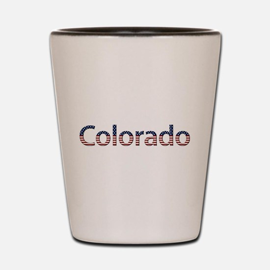 Colorado Stars and Stripes Shot Glass