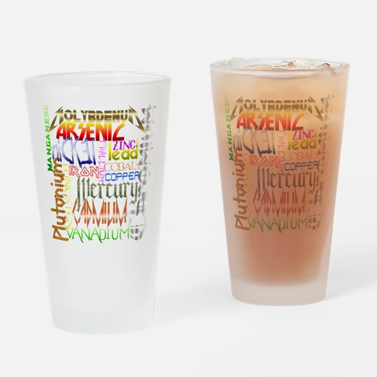 HEAVY METALS Drinking Glass