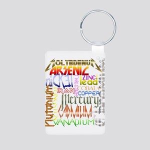 HEAVY METALS Aluminum Photo Keychain