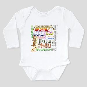 HEAVY METALS Long Sleeve Infant Bodysuit