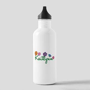 Kaitlynn Flowers Stainless Water Bottle 1.0L