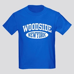 Woodside NY Kids Dark T-Shirt