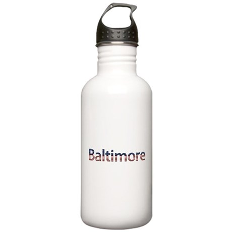 Baltimore Stars and Stripes Stainless Water Bottle