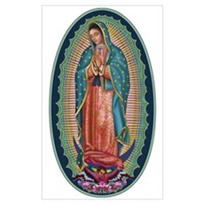 11 Lady of Guadalupe Poster