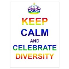 Keep Calm and Celebrate Diver Poster