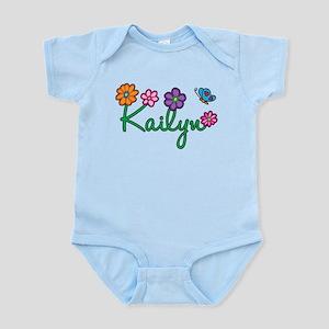 Kailyn Flowers Infant Bodysuit