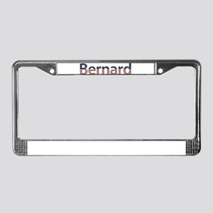 Bernard Stars and Stripes License Plate Frame