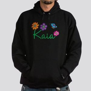 Kaia Flowers Hoodie (dark)